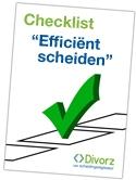 checklist scheiden